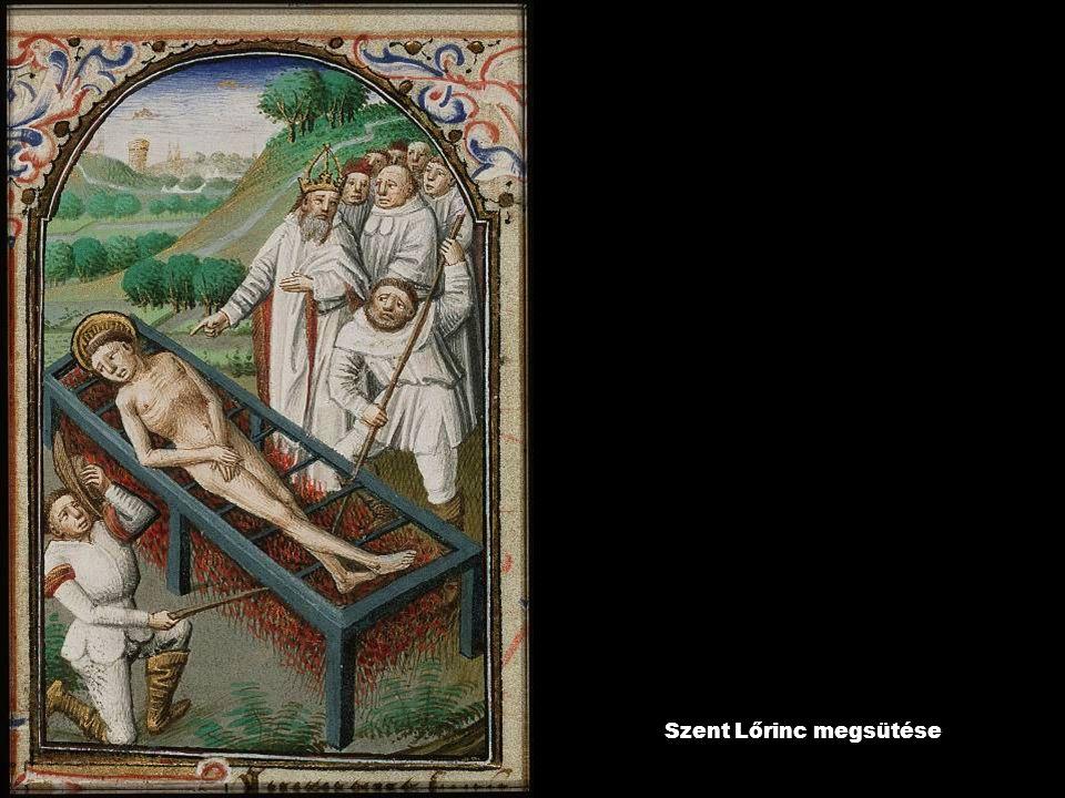 Szent Lőrinc megsütése