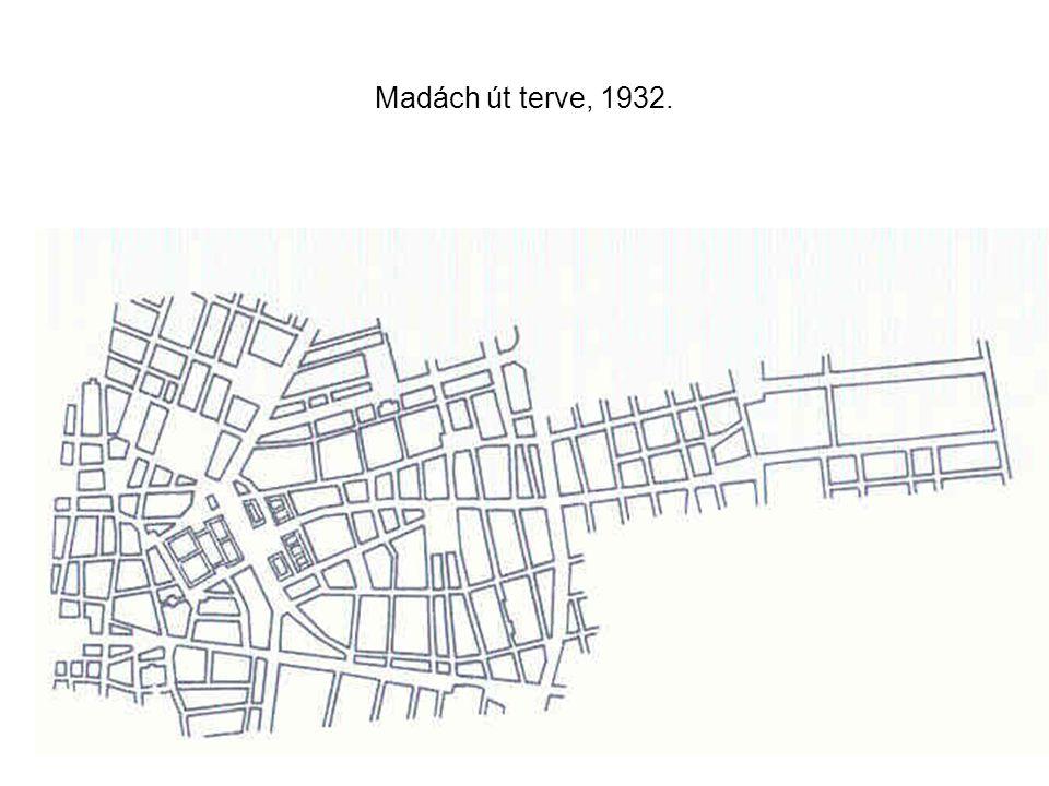 Madách út terve, 1932.