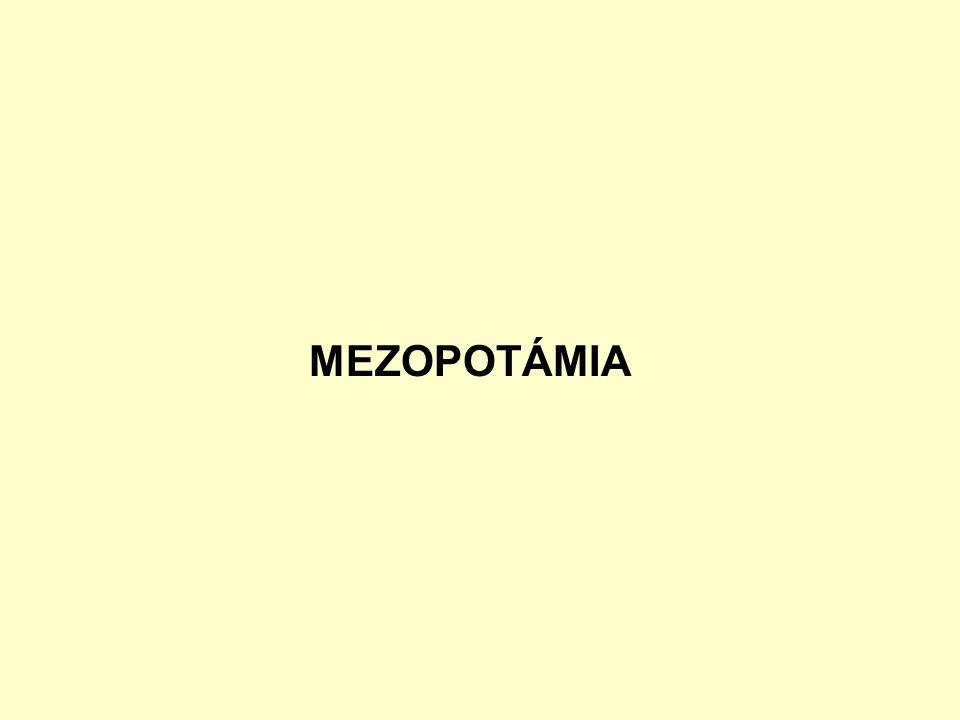 MEZOPOTÁMIA