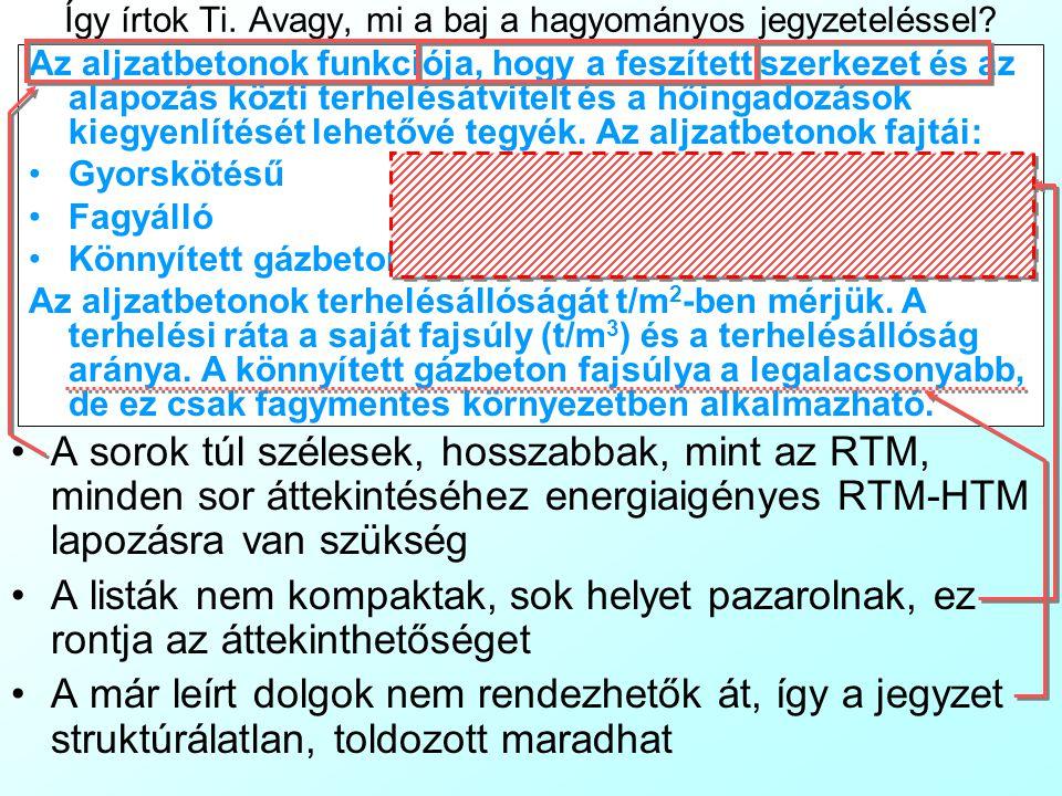 Infó tömörítési technikák: halmazok A tankönyvben: A vizsgálatot nemek szerint megbontva végezzük: Férfi Nő Ezenkívül, korkategóriák szerint megosztott elemzést is végzünk: Fiatalok: 16-32 év Alsó középkorúak: 33-40 év Felső középkorúak: 41-48 év Idősebbek: 48-64 év Az elemzést településtípusok szerint is végezhetjük: Budapest Nagyváros Kisváros Község A lekérdezés módja szerint is megbonthatjuk a mintát: Mélyinterjú Fókuszcsoport Az olyan rövid listák, amelyek elemszáma nem hosszabb, mint az RTM, és meglehetősen triviálisak (például elemeik ordinális sorba rendezhetők) az általános szabállyal szemben egy sorban, kapcsos zárójelben egy halmaz (Set) elemeiként is rögzíthetők.