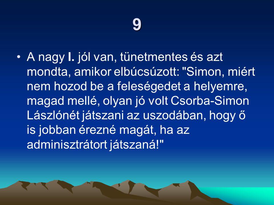 9 A nagy I.