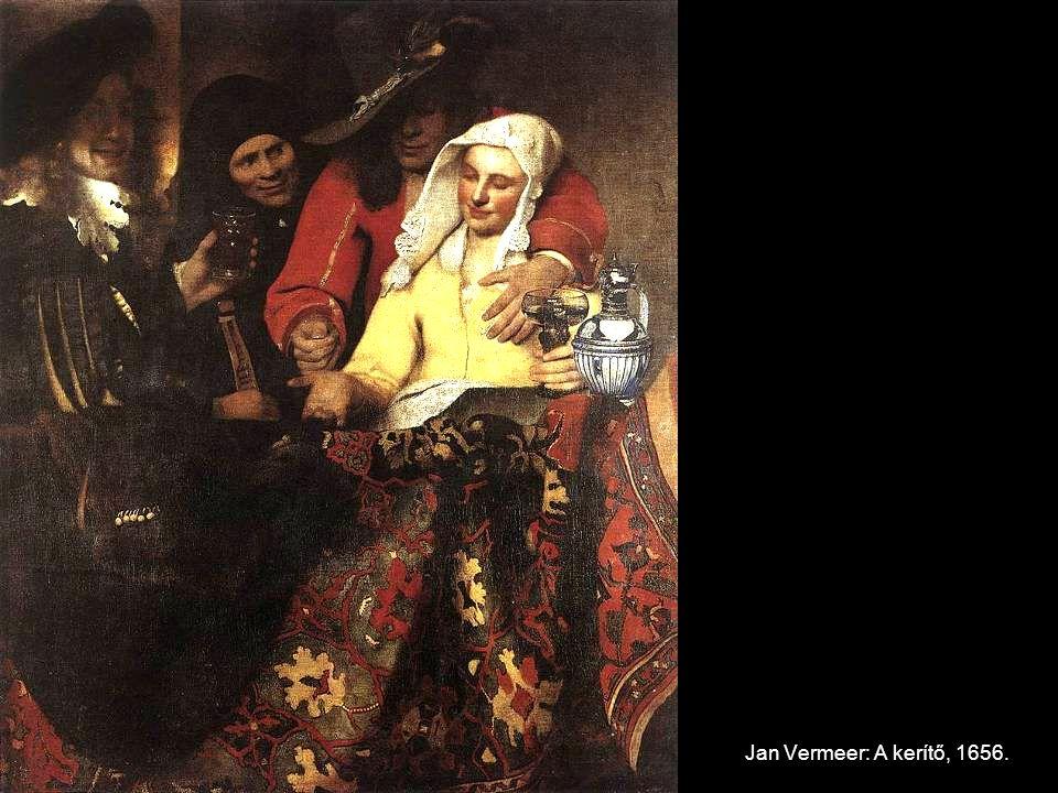 Jan Vermeer: A kerítő, 1656.