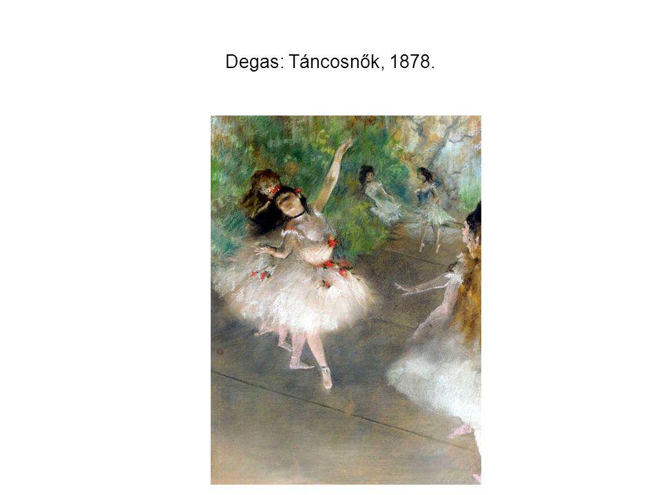 Degas: Táncosnők, 1878.