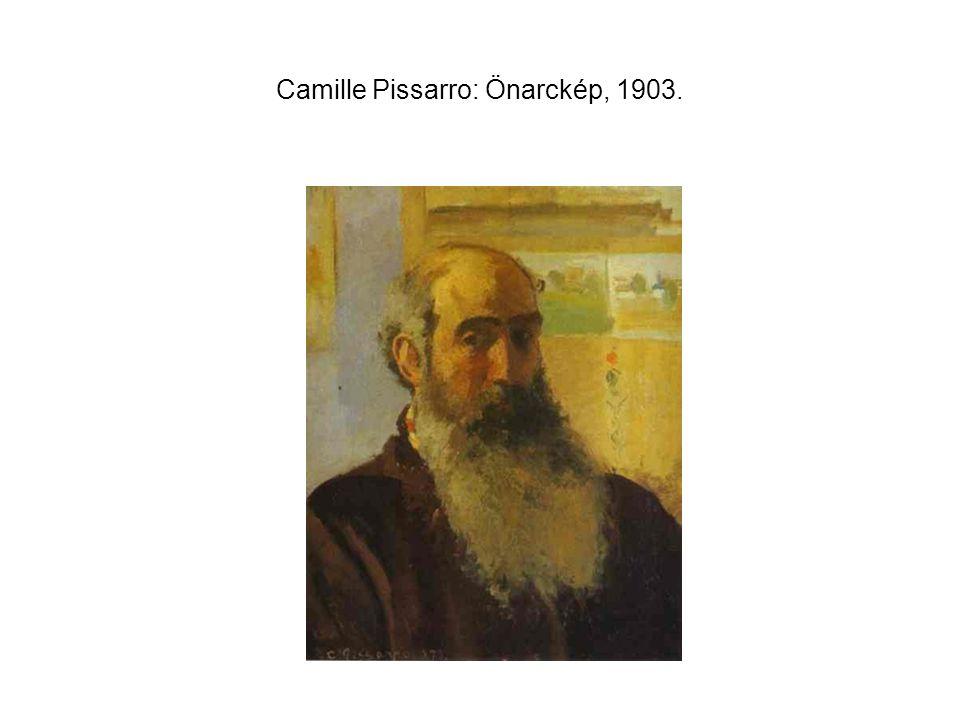 Camille Pissarro: Önarckép, 1903.