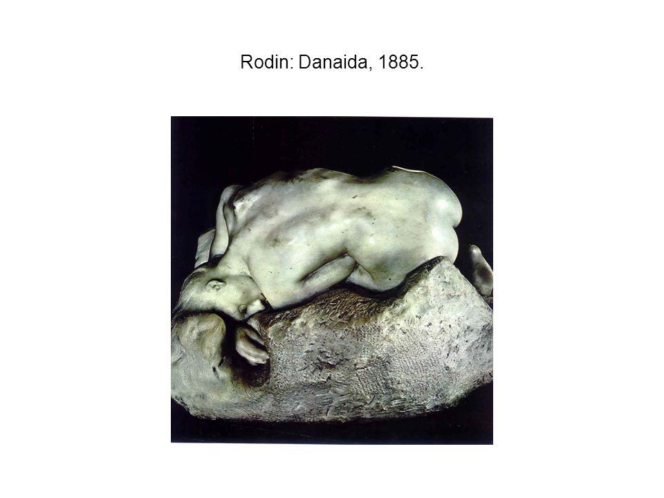 Rodin: Danaida, 1885.