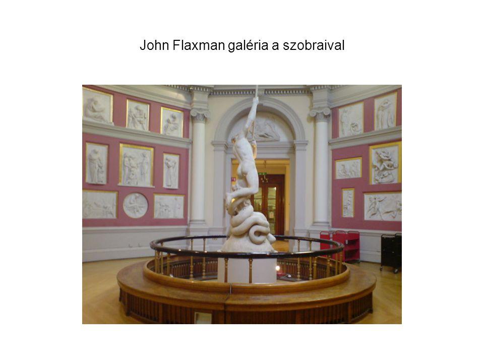 John Flaxman galéria a szobraival