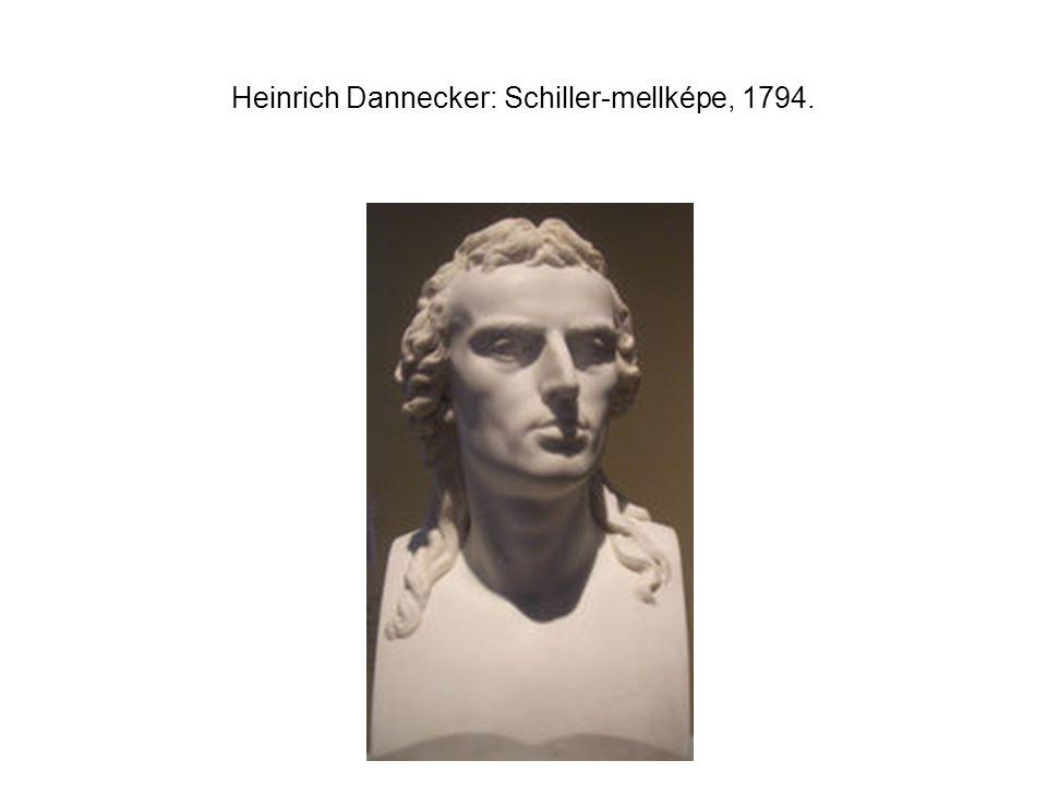 Heinrich Dannecker: Schiller-mellképe, 1794.