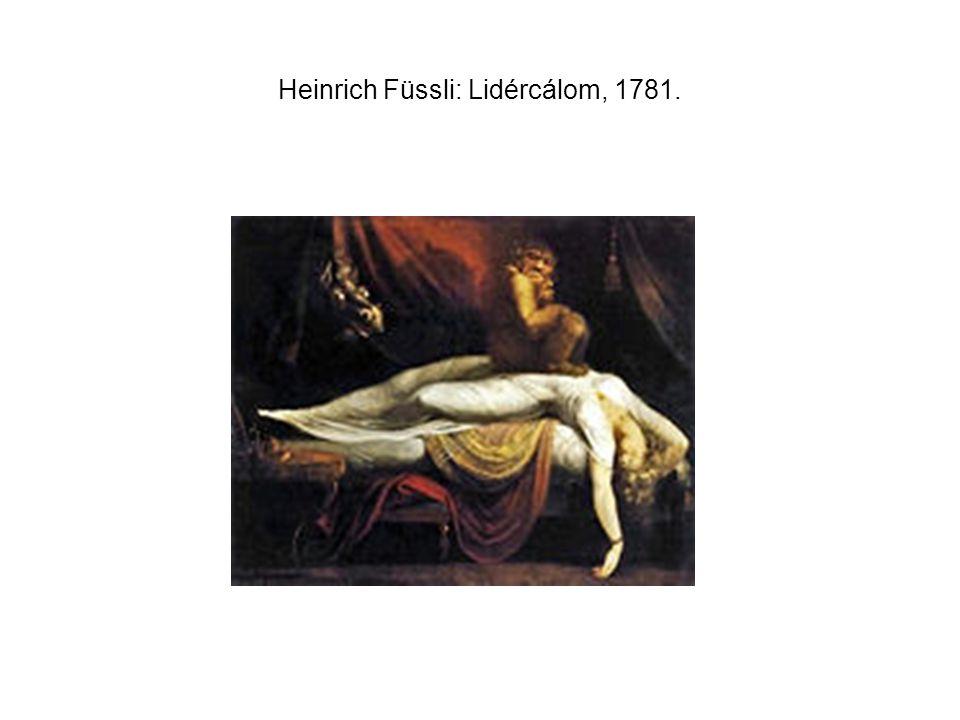 Heinrich Füssli: Lidércálom, 1781.