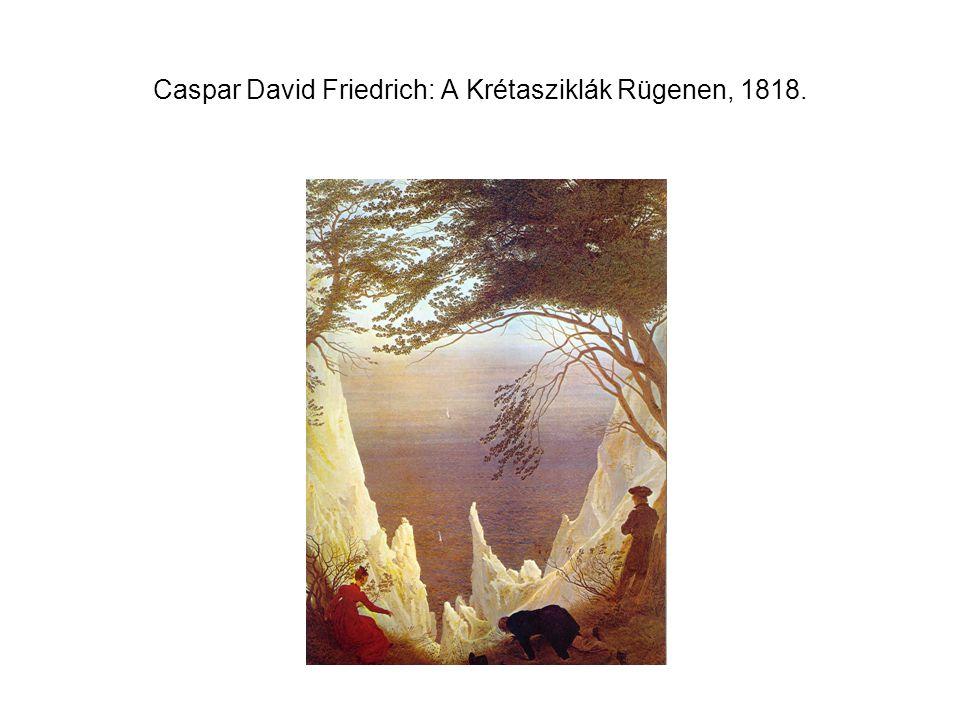Caspar David Friedrich: A Krétasziklák Rügenen, 1818.
