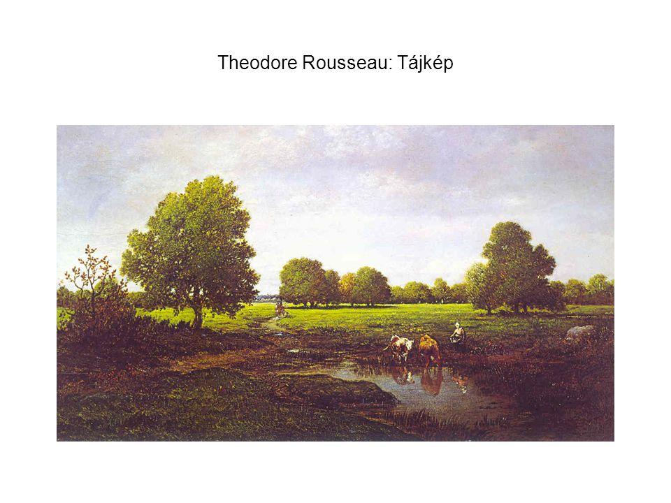 Theodore Rousseau: Tájkép