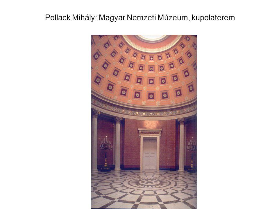 Pollack Mihály: Magyar Nemzeti Múzeum, kupolaterem