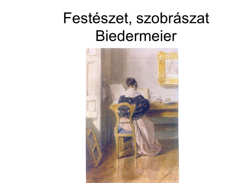 Festészet, szobrászat Biedermeier