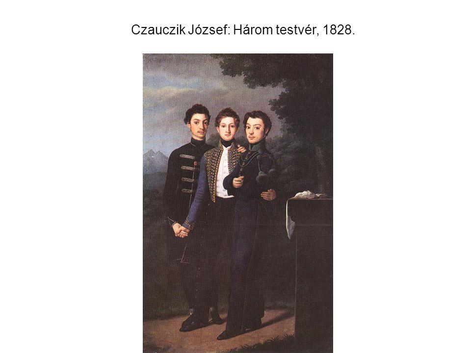 Czauczik József: Három testvér, 1828.