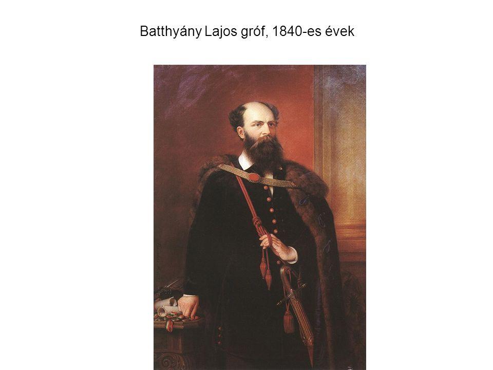 Batthyány Lajos gróf, 1840-es évek