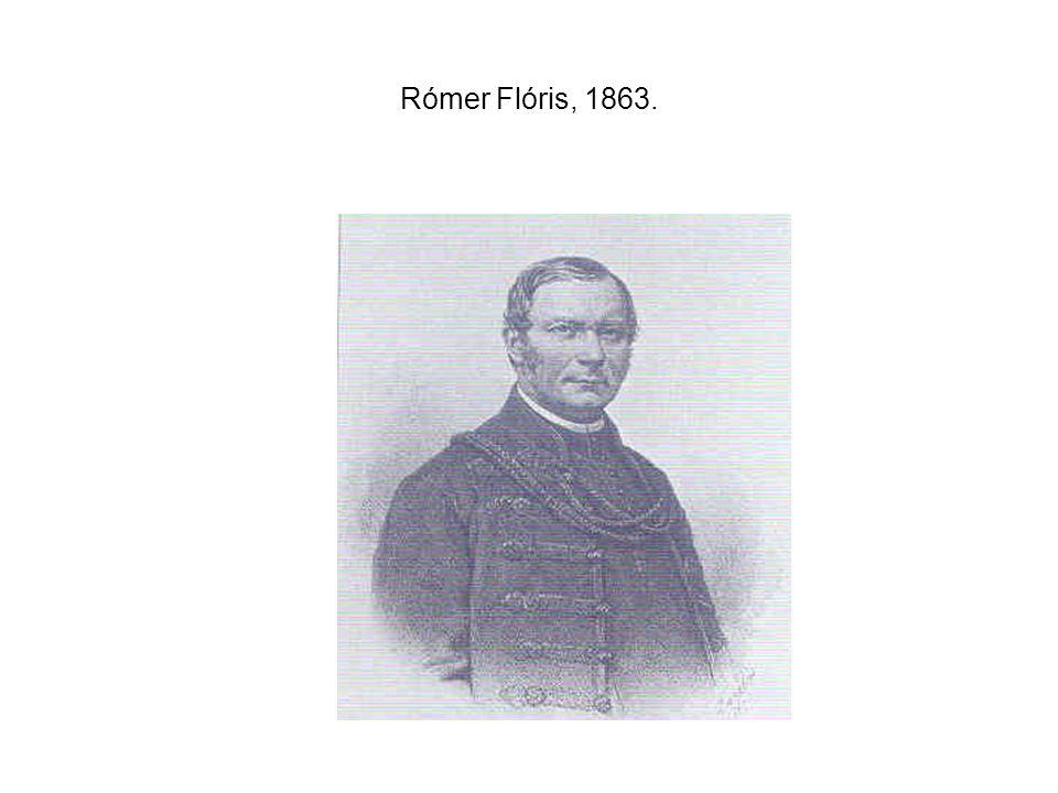 Rómer Flóris, 1863.