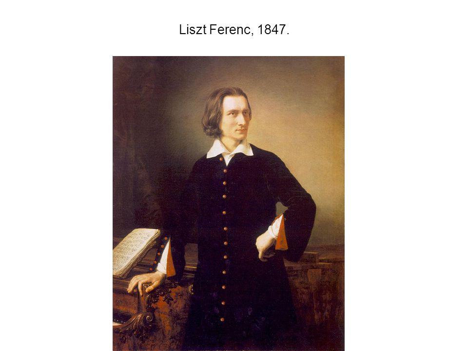 Liszt Ferenc, 1847.