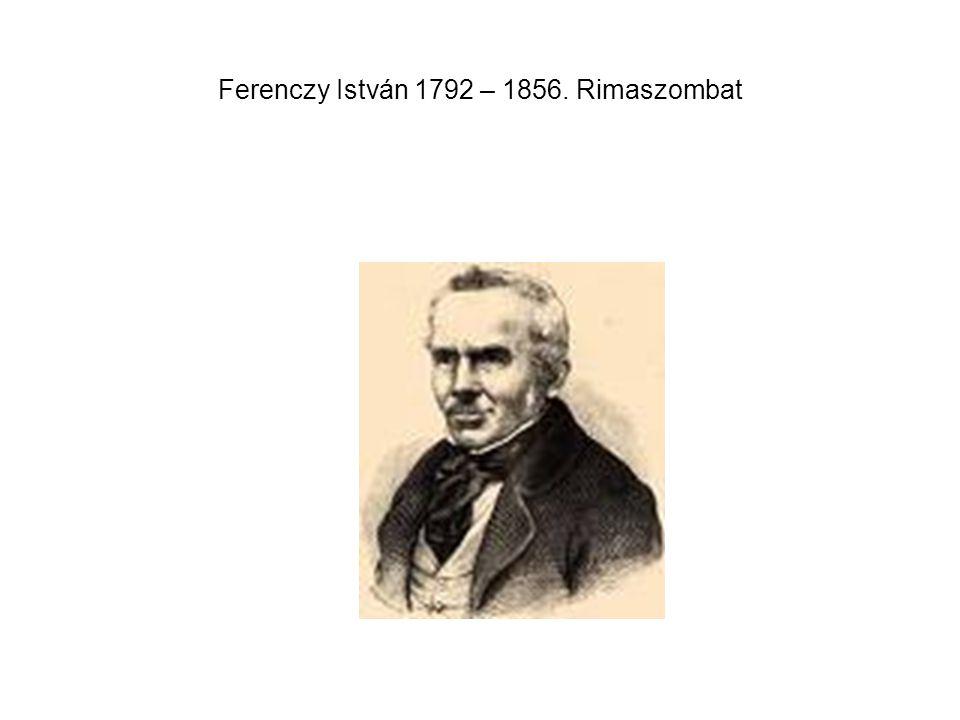 Ferenczy István 1792 – 1856. Rimaszombat