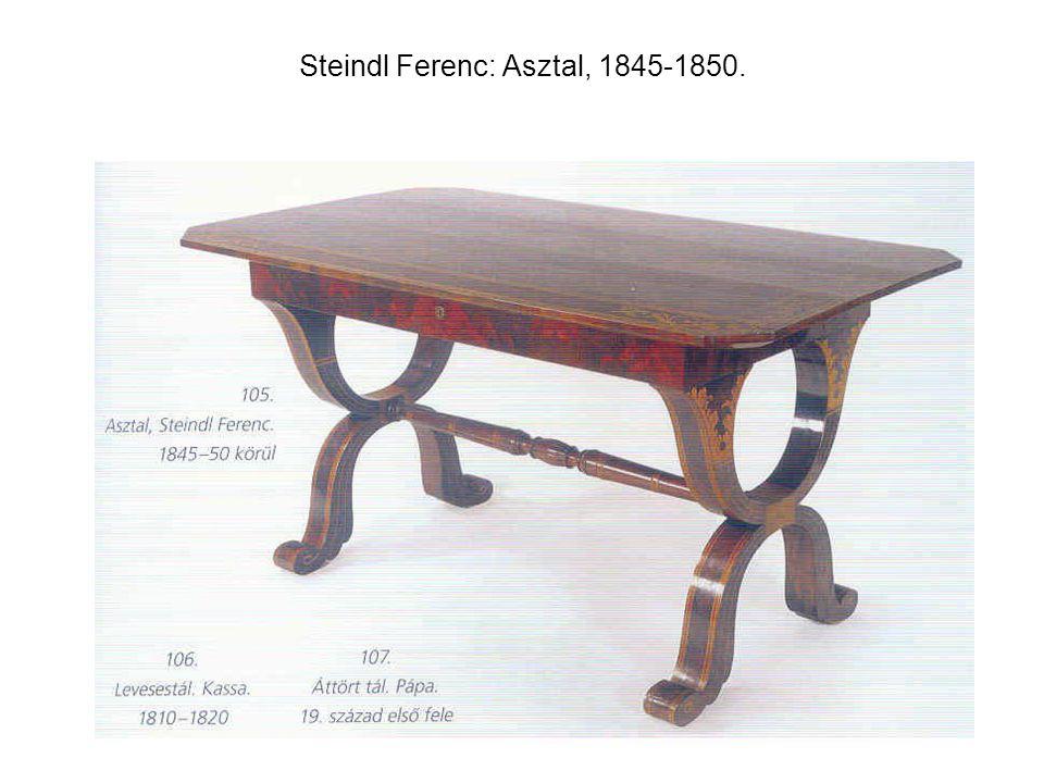 Steindl Ferenc: Asztal, 1845-1850.