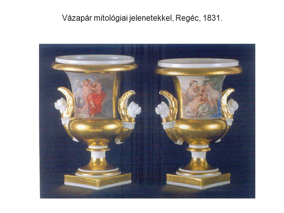 Vázapár mitológiai jelenetekkel, Regéc, 1831.