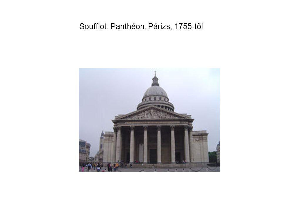 Soufflot: Panthéon, Párizs, 1755-től