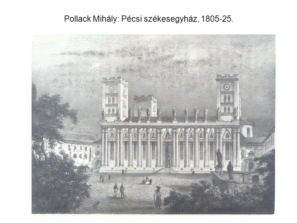 Winkler György-Kagerbauer Antal: Kolozsvári református templom, 1829-1856