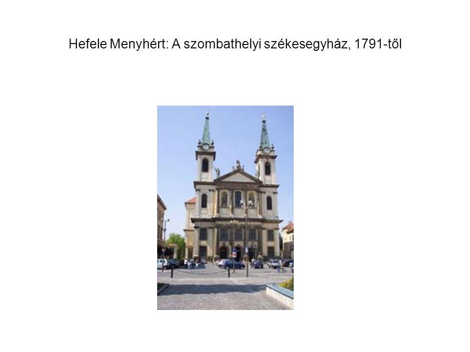 Rumperger Ferenc – Czigler Antal – Hoffer József: Evangélikus nagytemplom, Békéscsaba, 1807-1824.