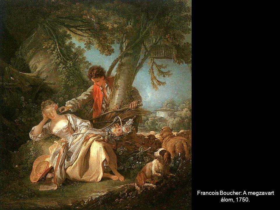 Francois Boucher: A megzavart álom, 1750.