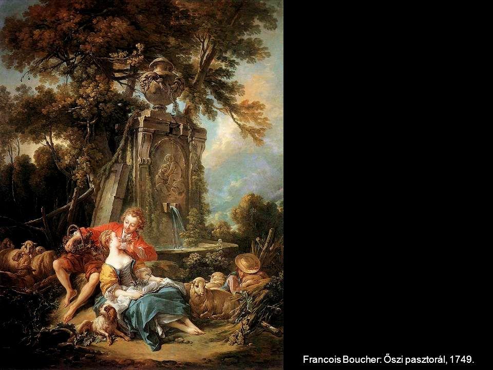 Francois Boucher: Őszi pasztorál, 1749.