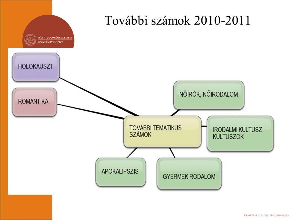 További számok 2010-2011