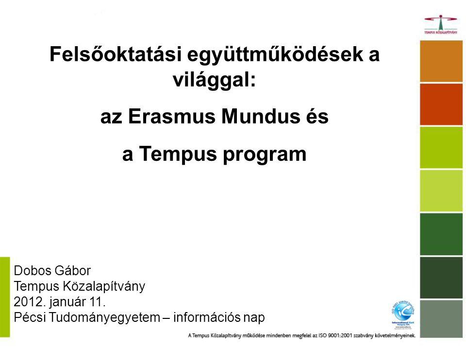 Kiválóság az európai felsőoktatásban: Erasmus Mundus