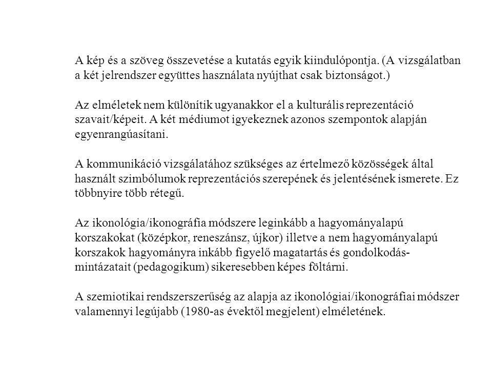Irodalom Barthes, Roland.1968. Elements of Semiology.
