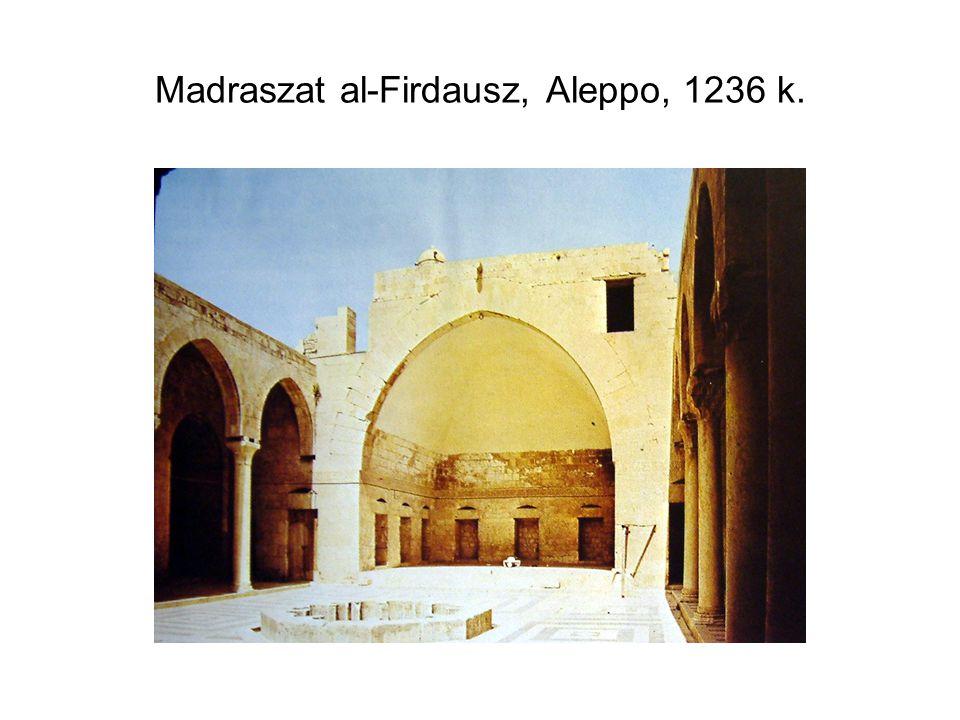 Madraszat al-Firdausz, Aleppo, 1236 k.