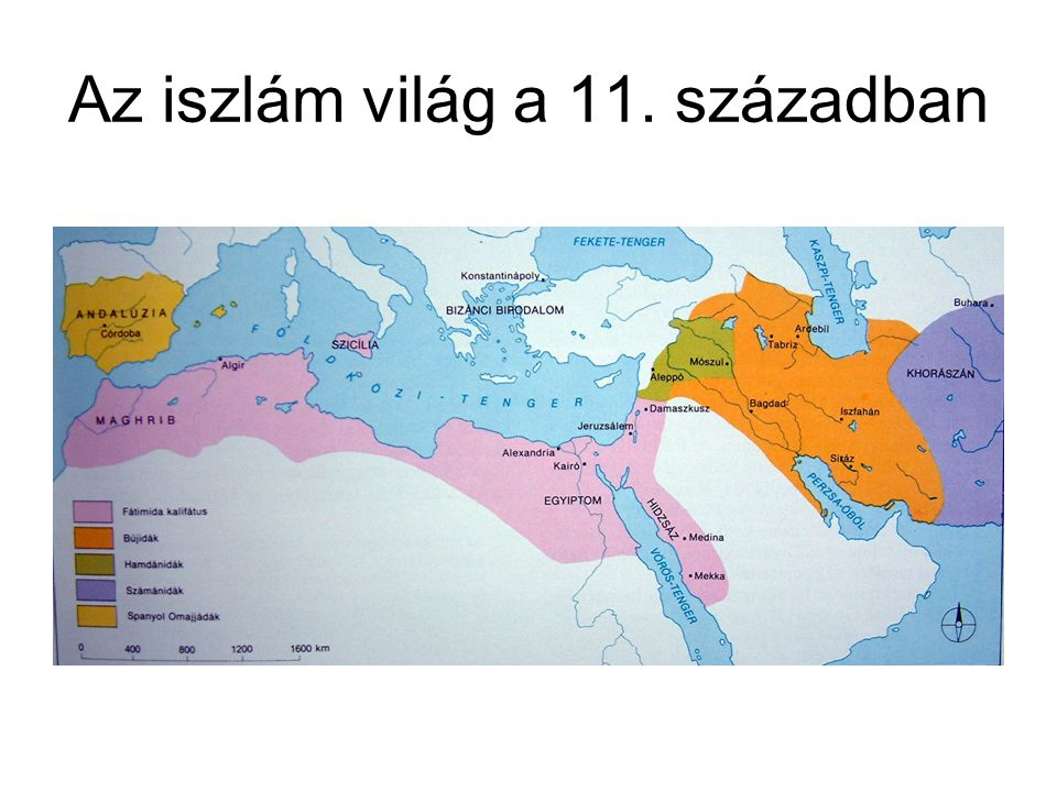 A vallásalapító Muhammad próféta mekkai menekülése (622) Ibériai félszigettől Indiáig és a közép-ázsiai sztyeppékig a 10.