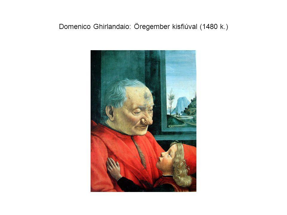 Domenico Ghirlandaio: Öregember kisfiúval (1480 k.)