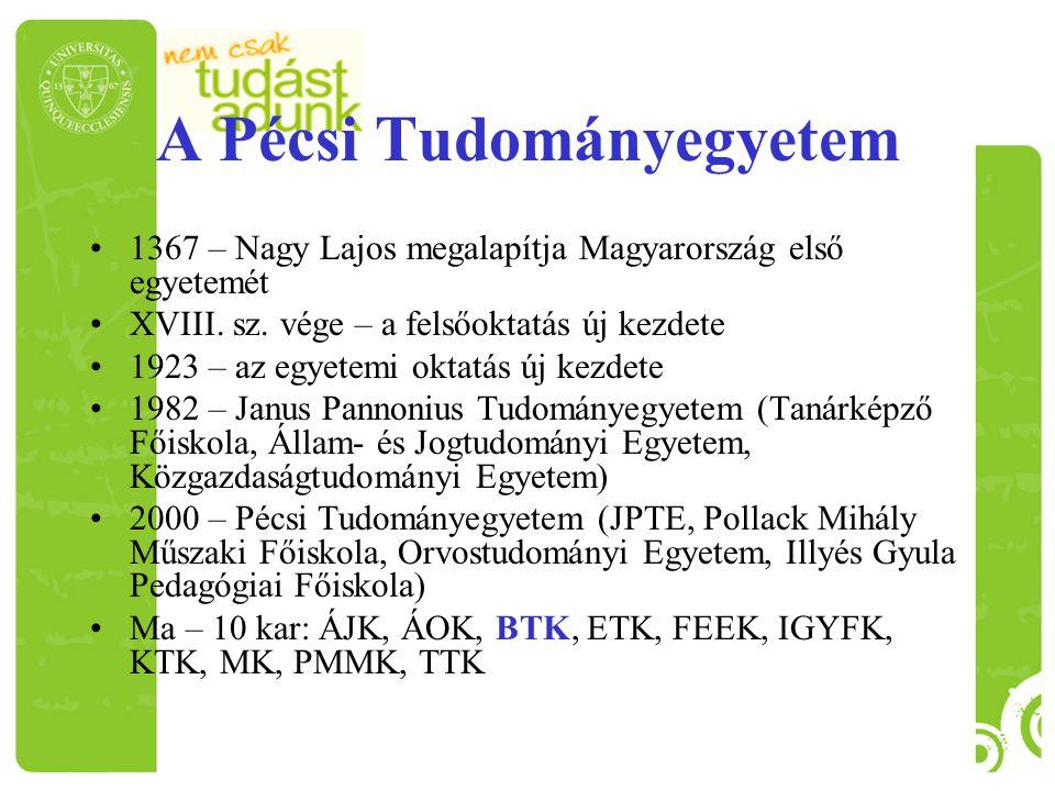 1367 – Nagy Lajos megalapítja Magyarország első egyetemét XVIII. sz. vége – a felsőoktatás új kezdete 1923 – az egyetemi oktatás új kezdete 1982 – Jan