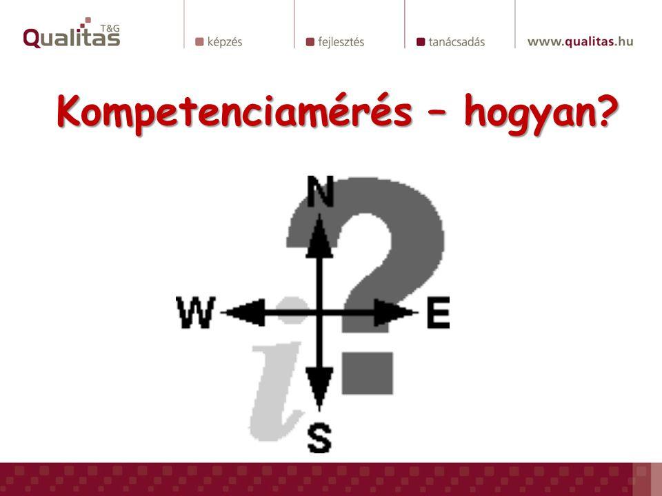 Kompetenciamérés – hogyan?