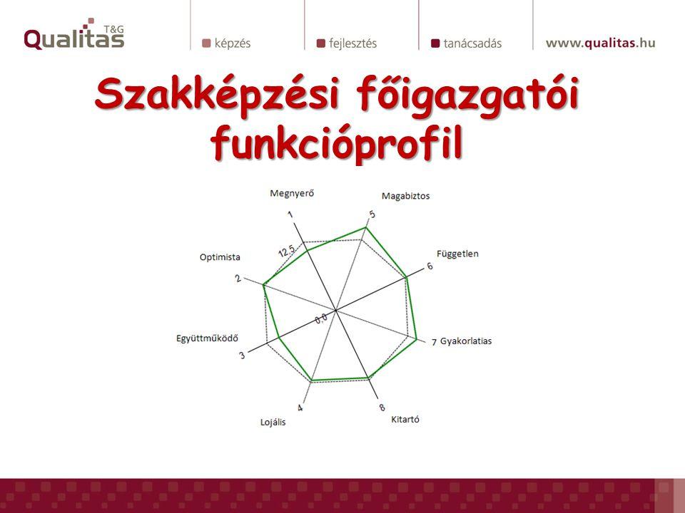 Szakképzési főigazgatói funkcióprofil