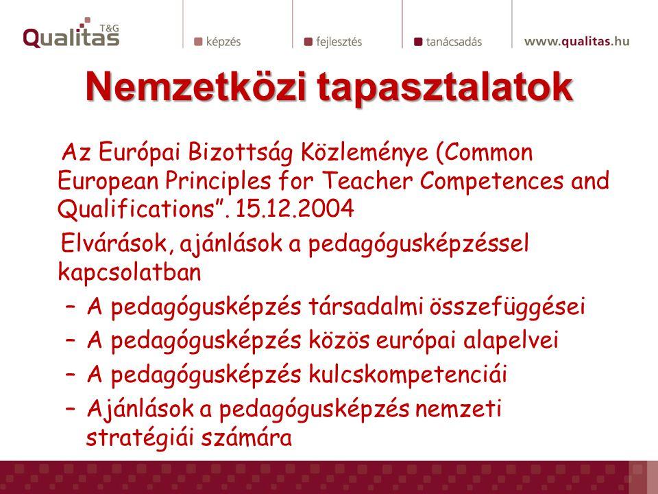 Pedagógus profilok magyarholland