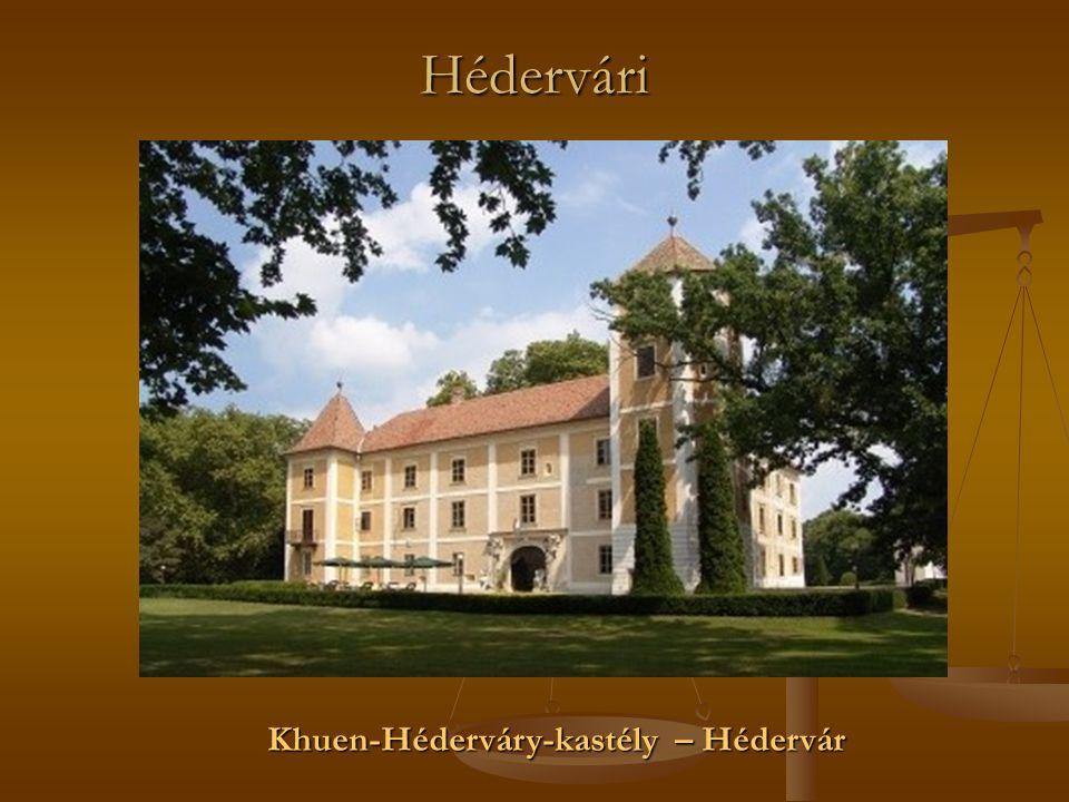 Hédervári Khuen-Héderváry-kastély – Hédervár