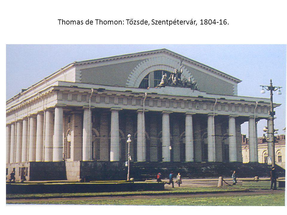 Thomas de Thomon: Tőzsde, Szentpétervár, 1804-16.