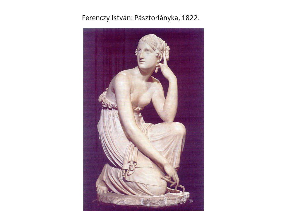 Ferenczy István: Pásztorlányka, 1822.
