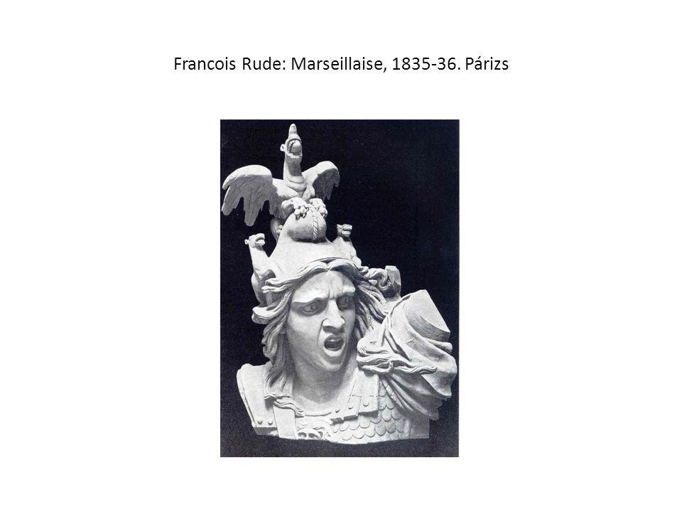 Francois Rude: Marseillaise, 1835-36. Párizs