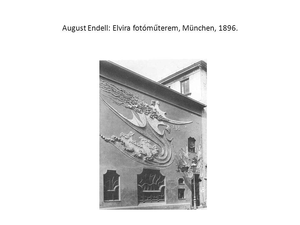 August Endell: Elvira fotóműterem, München, 1896.