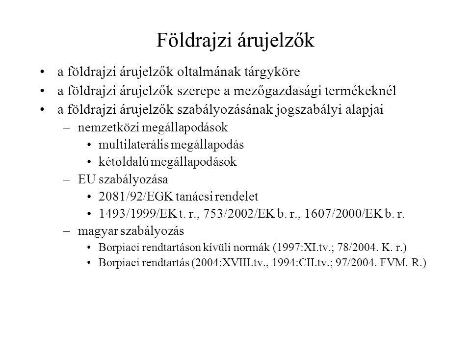 Magyar borok minőségi kategóriái Asztali bor –Tájbor M.