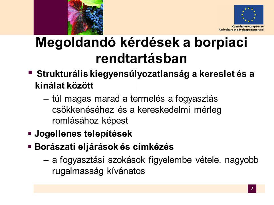 8 A borpiaci reform várható ütemezése  tanulmány a borpiaci rendtartás értékeléséről (2005.