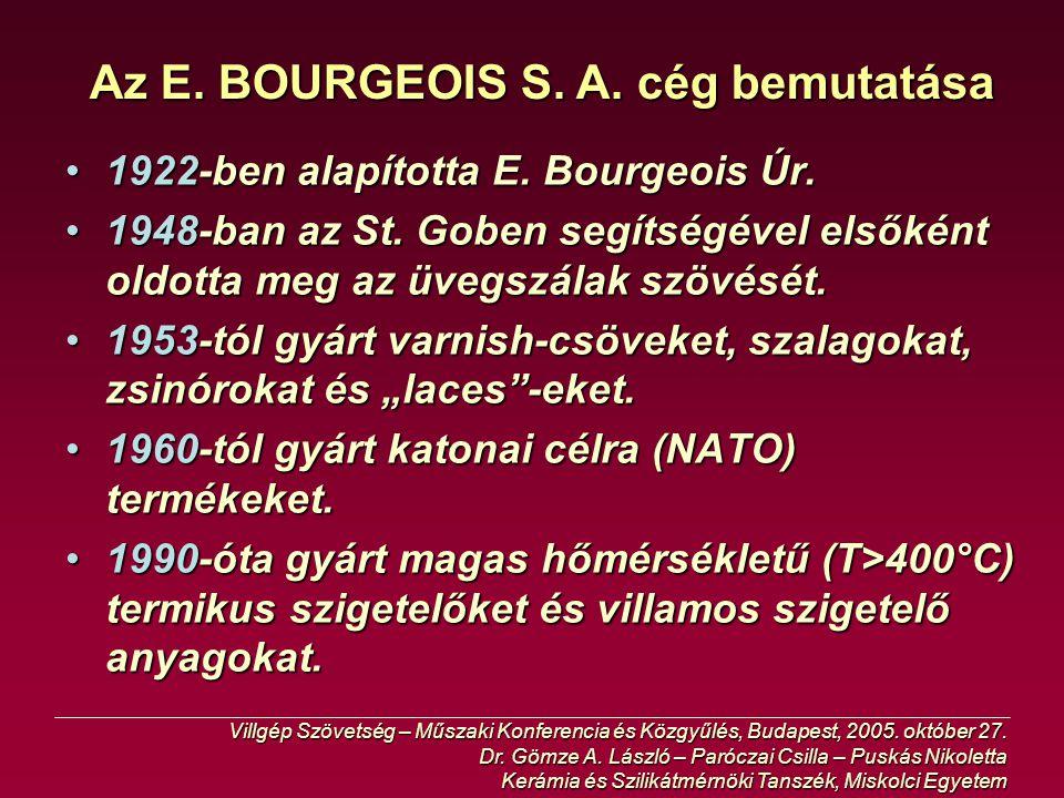 4kV-os poliuretán Varnish-cső (CETAVER) Villgép Szövetség – Műszaki Konferencia és Közgyűlés, Budapest, 2005.