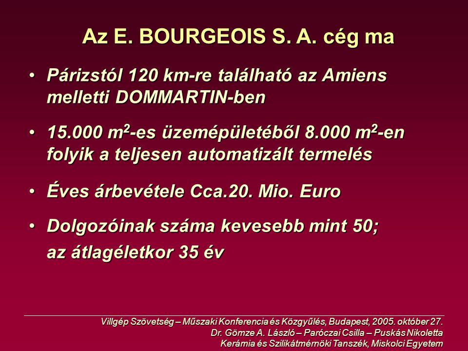 """Szegett konduktív/vezető kevert bandázsoló szalag """"TS Villgép Szövetség – Műszaki Konferencia és Közgyűlés, Budapest, 2005."""