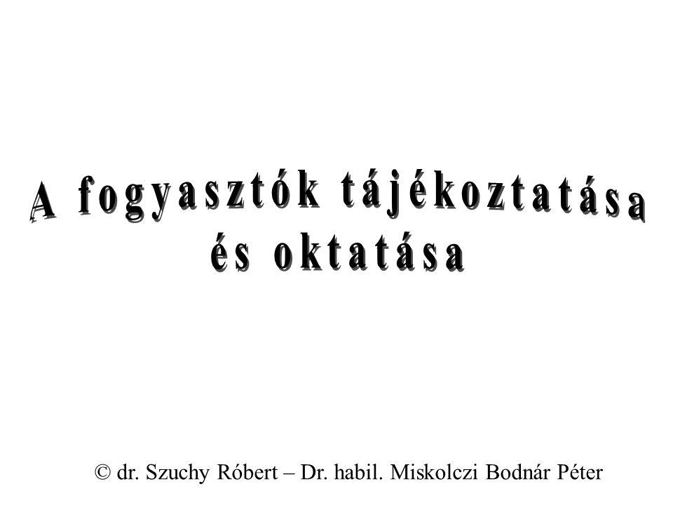 © dr. Szuchy Róbert – Dr. habil. Miskolczi Bodnár Péter