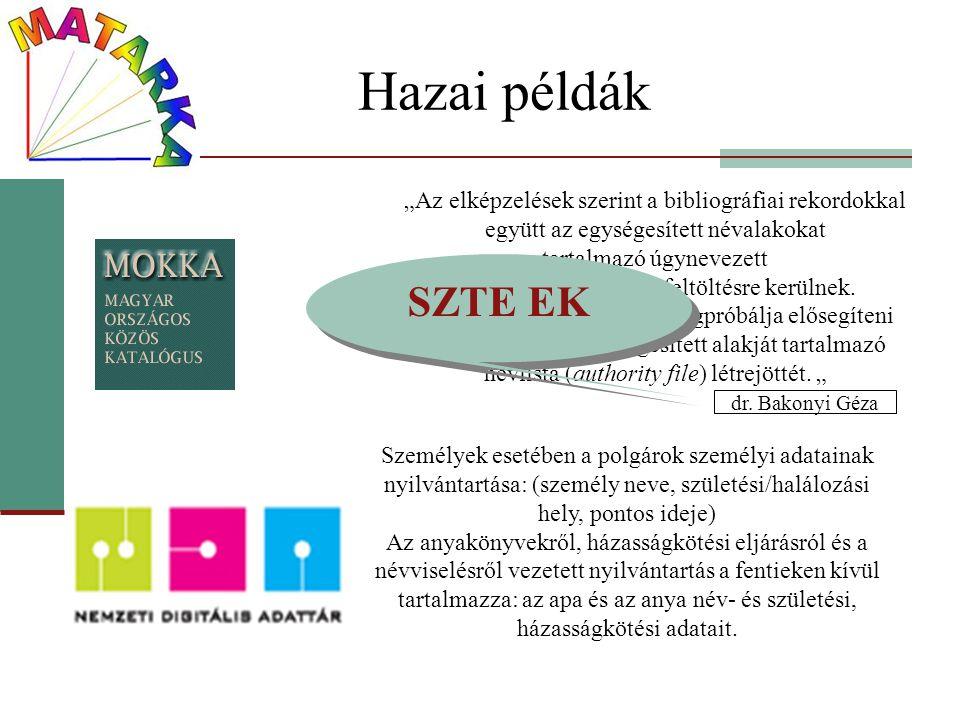 MSZ 3440/2-79 A bibliográfiai leírás besorolási adatai.