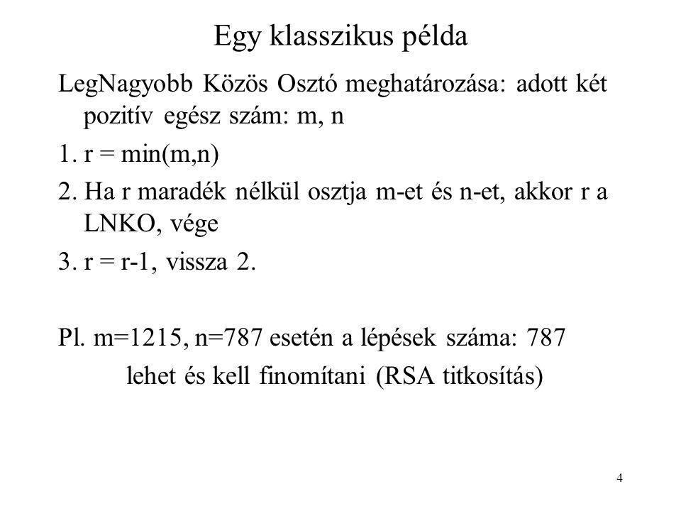 5 Euclides: LNKO Egy hatékonyabb megoldás, Euclides (ie.